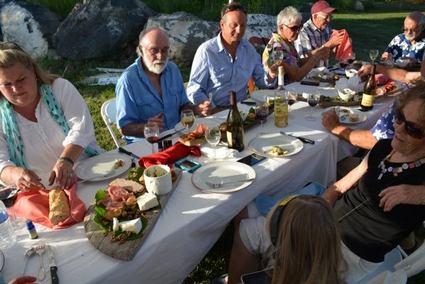 Summer Dinner at Leroux Creek Vineyard